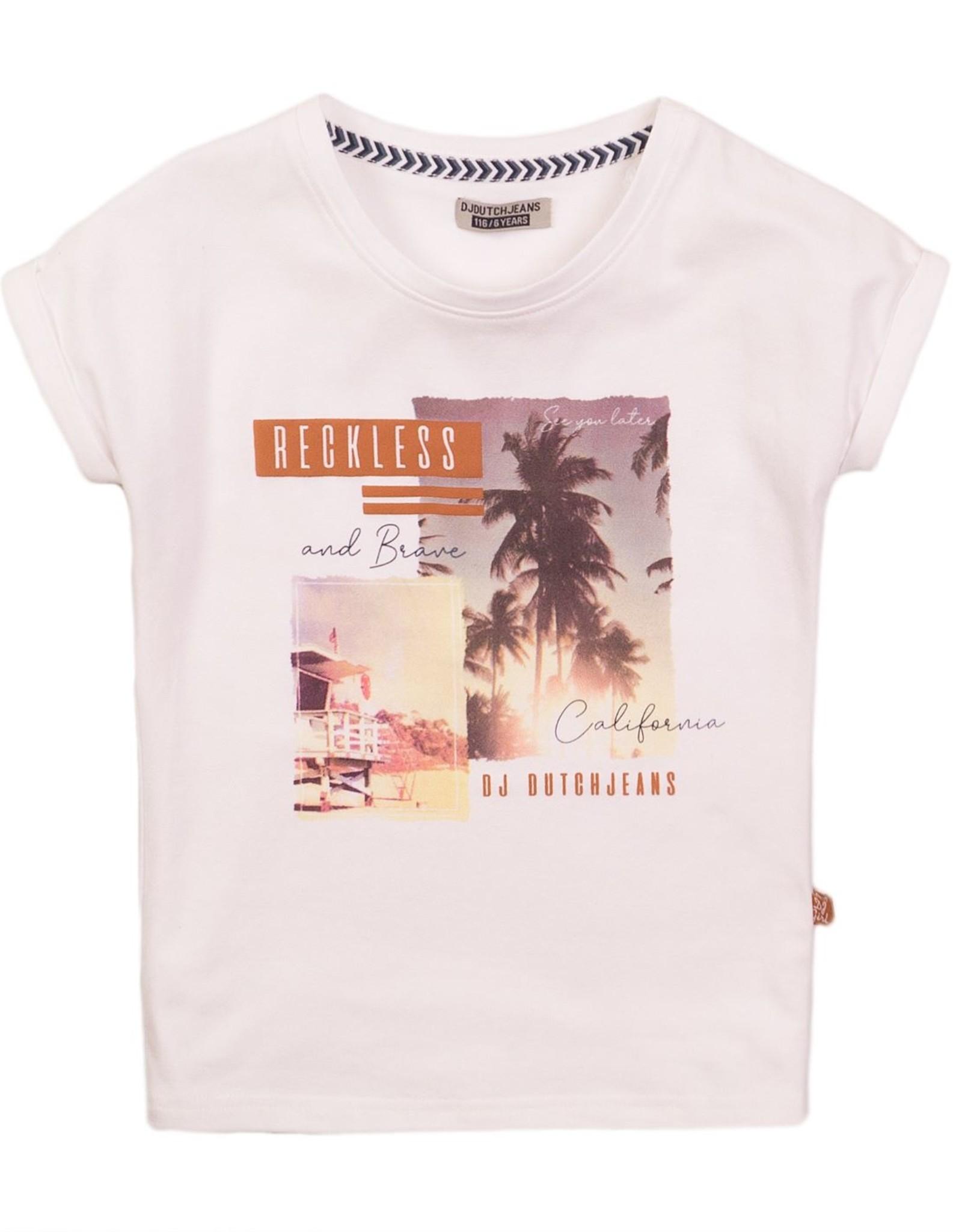 DJ Dutchjeans DJ Dutchjeans shirt 38035 white
