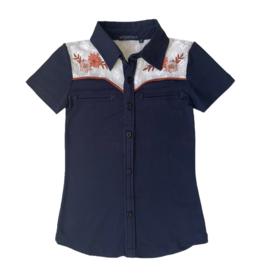 Topitm TOPitm blouse Derby dark blue