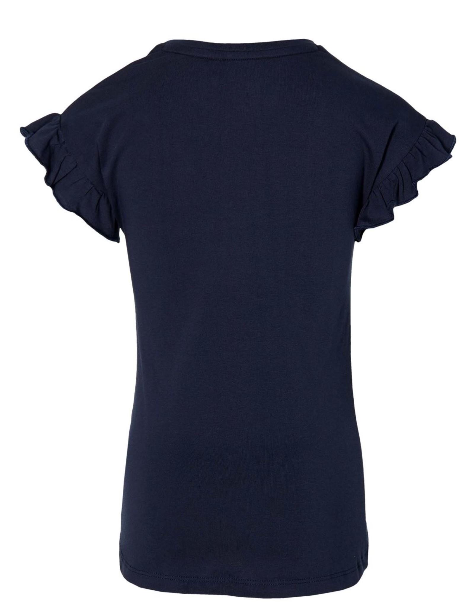 Quapi Quapi shirt Fenja dark blue