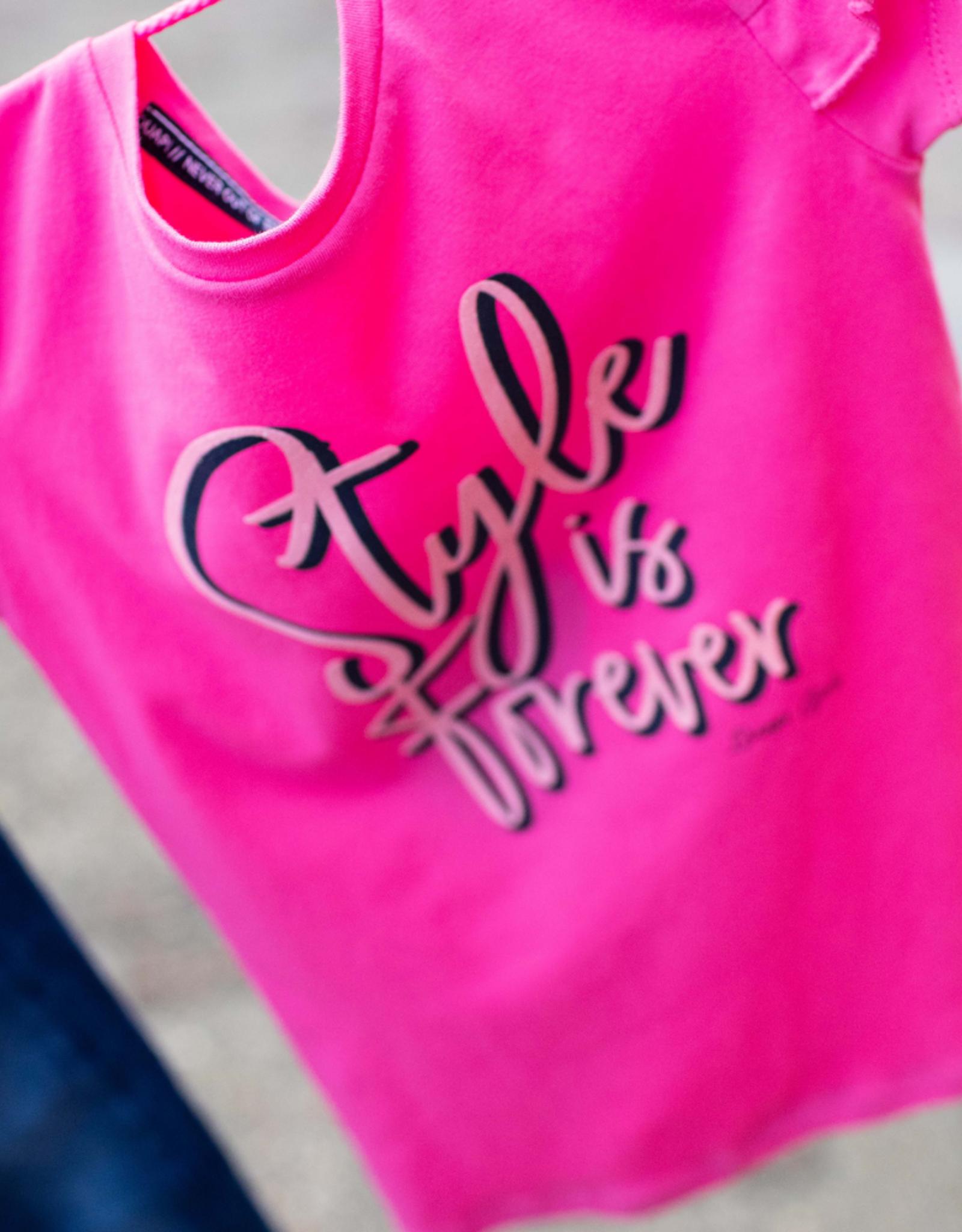 Quapi Quapi shirt FENNY hot pink