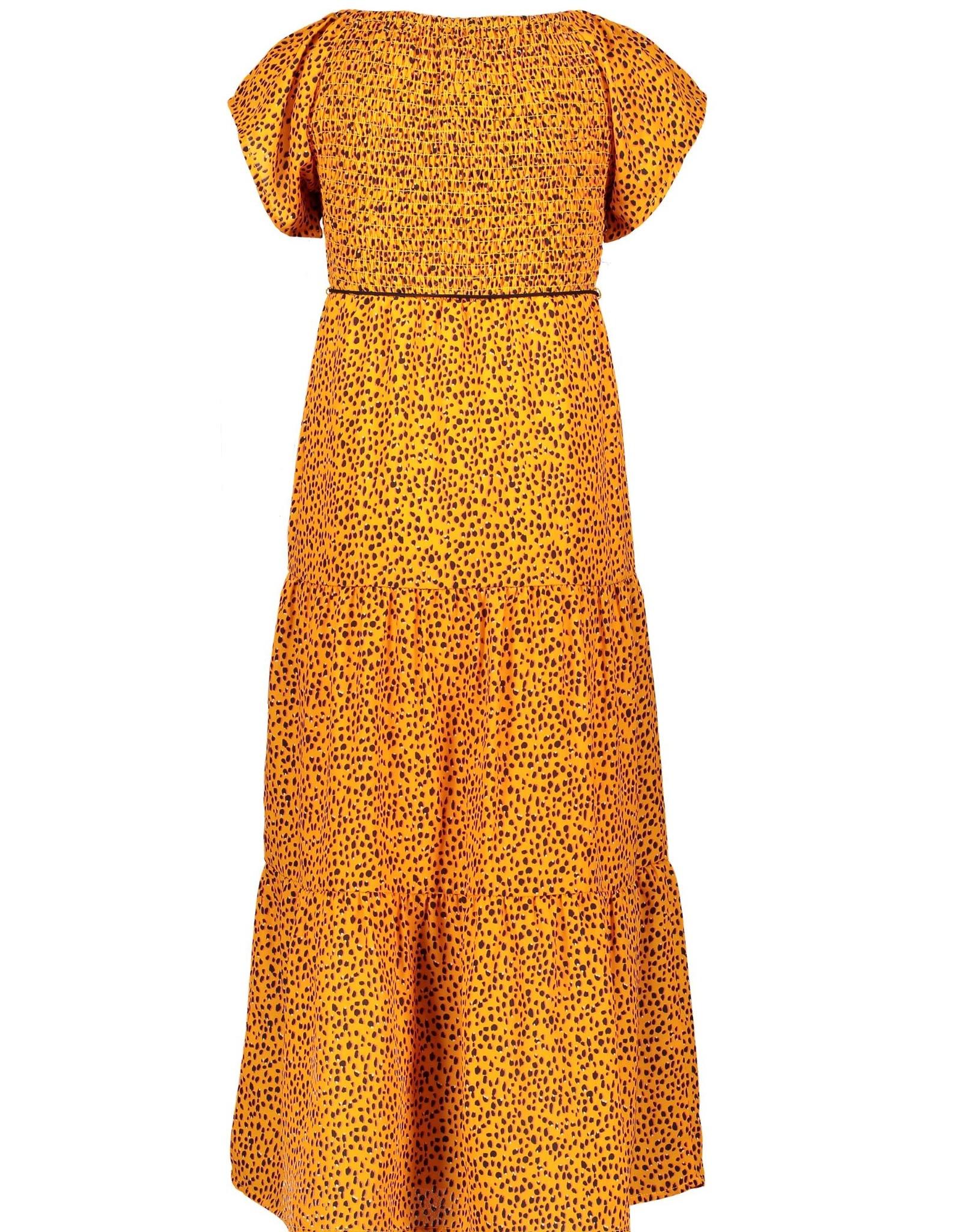 NONO NONO maxi dress 5805 blazing orange
