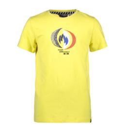Moodstreet Moodstreet shirt 6420 washed yellow