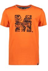 Moodstreet Moodstreet t-shirt 6420 orange red