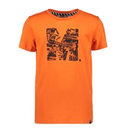 Moodstreet Moodstreet shirt 6420 orange red