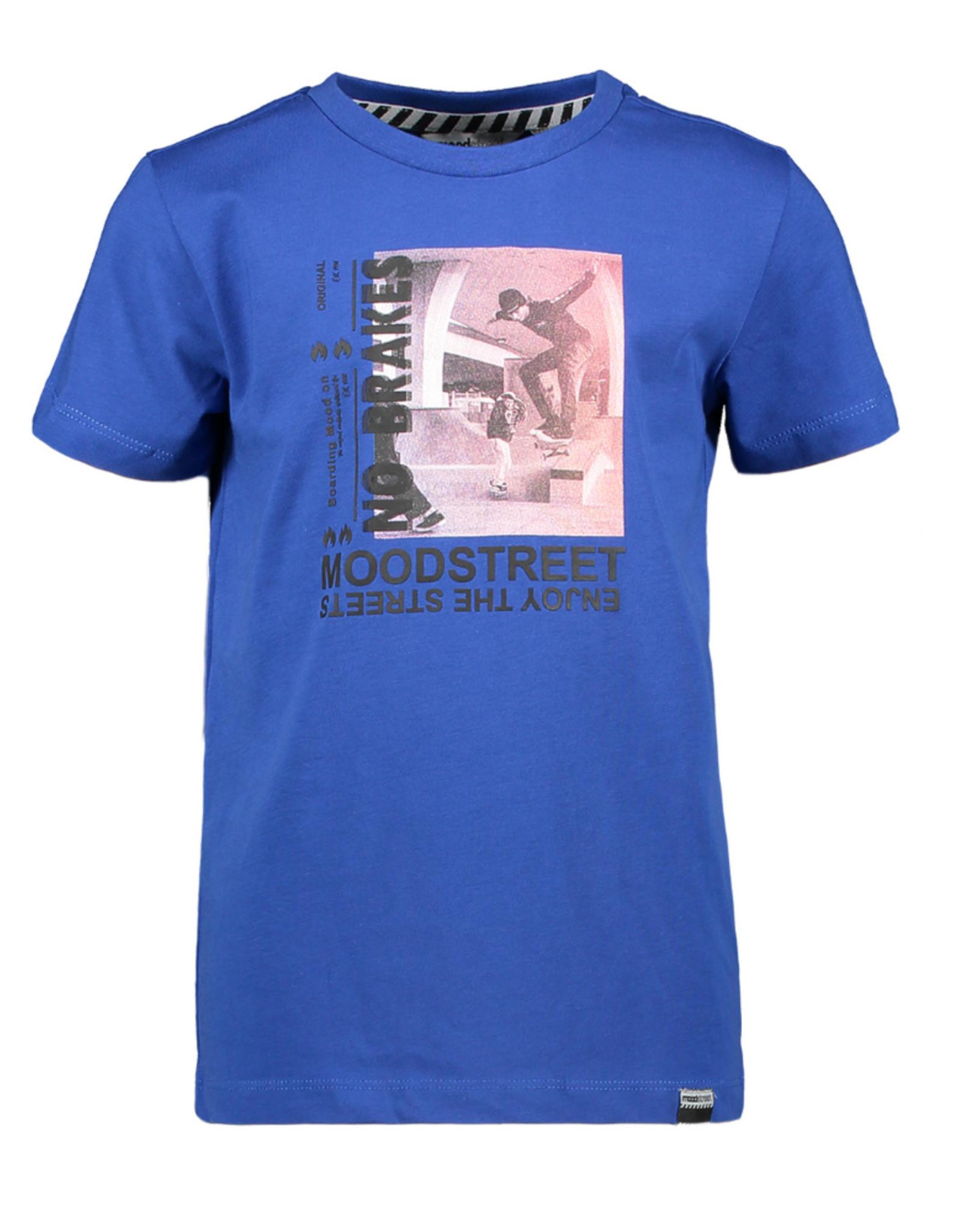 Moodstreet Moodstreet t-shirt 6421 sporty blue