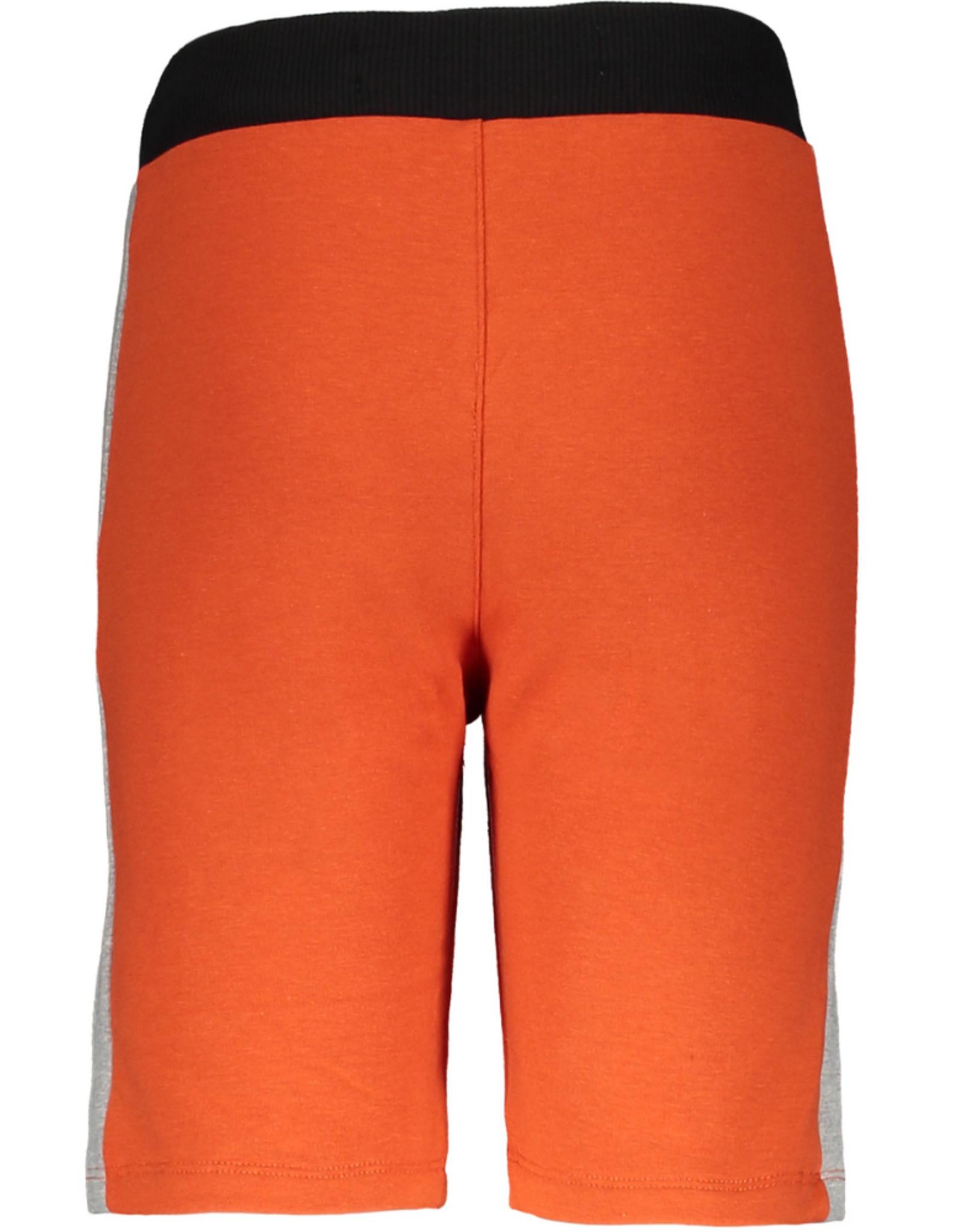 Moodstreet Moodstreet korte broek 6606 orange red