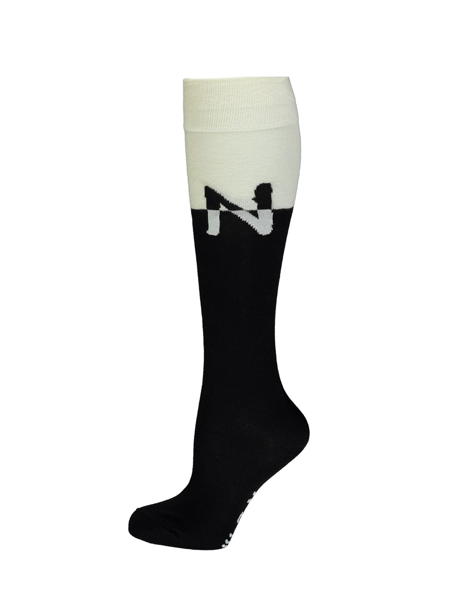 NoBell NoBell long sock 3902 jet black
