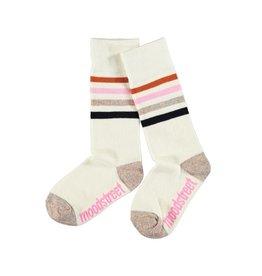 Moodstreet Moodstreet kneehigh socks 5900 warm white