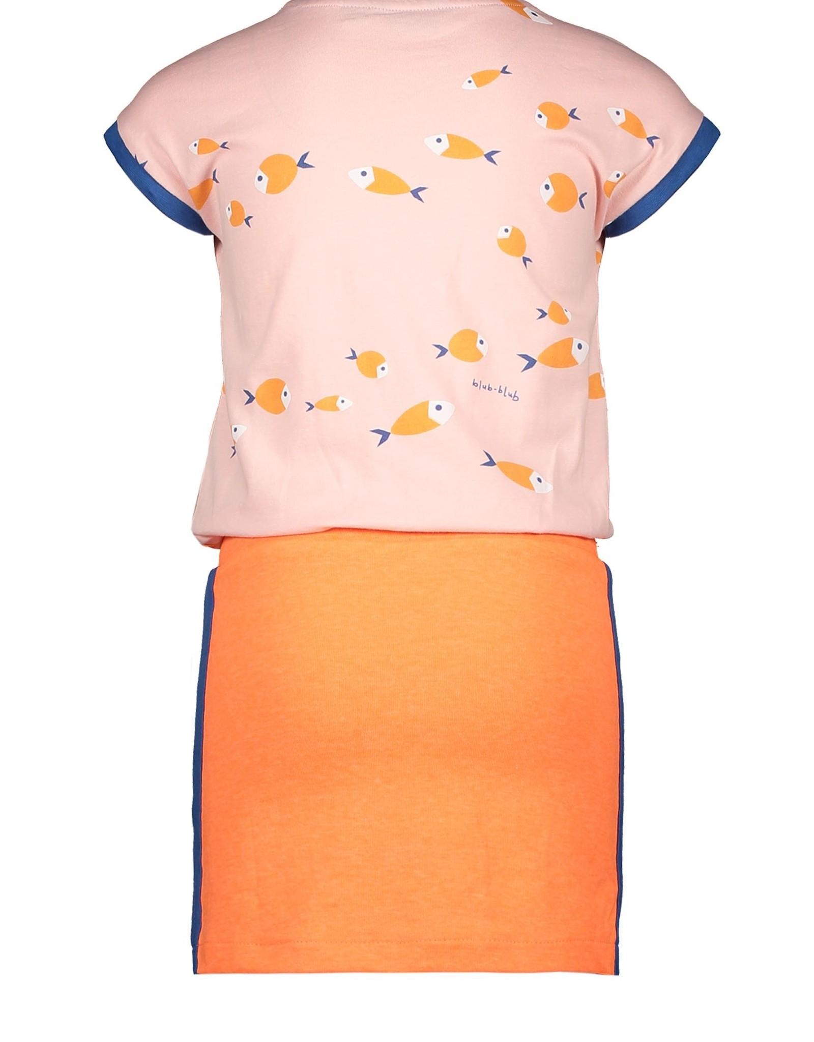 Moodstreet Moodstreet jurkje 5850 blush pink
