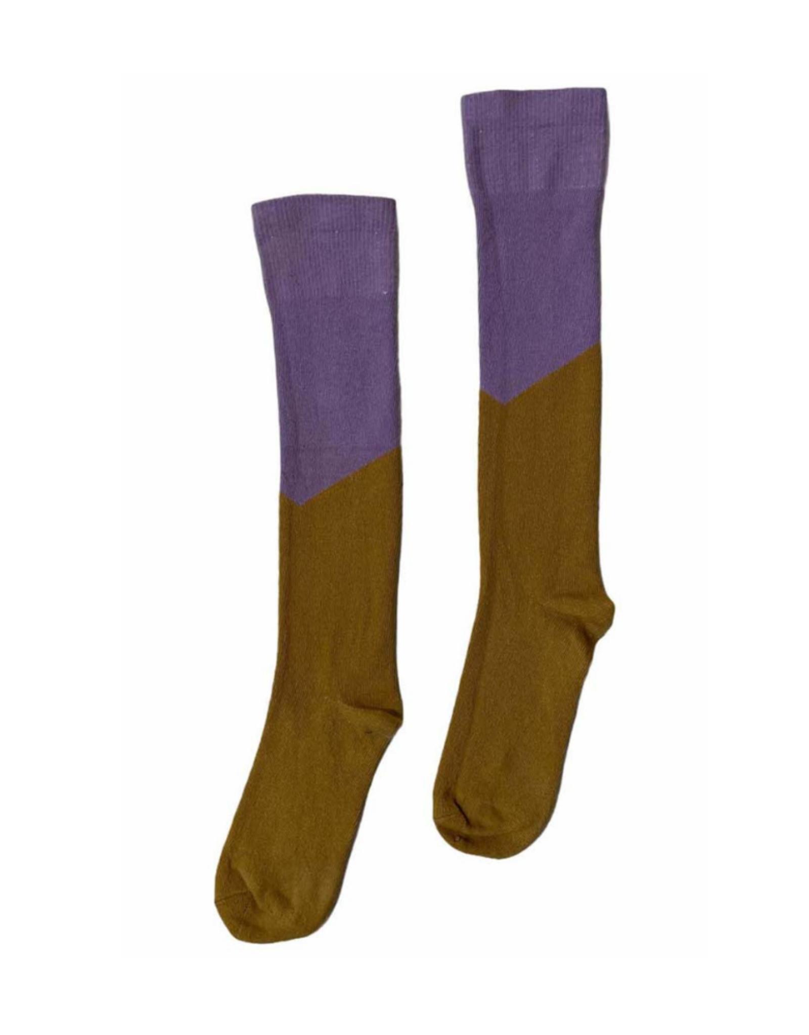 Topitm TOPitm socks Camille sand/lilac
