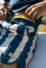 Quapi Quapi zwemshort Fahad sport blue stripe
