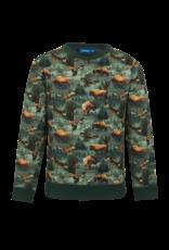 Someone Someone sweater Loup dark green