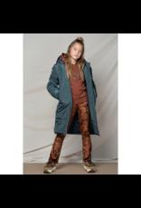 NoBell NoBell baggy long hooded jacket 3205 bushy grey