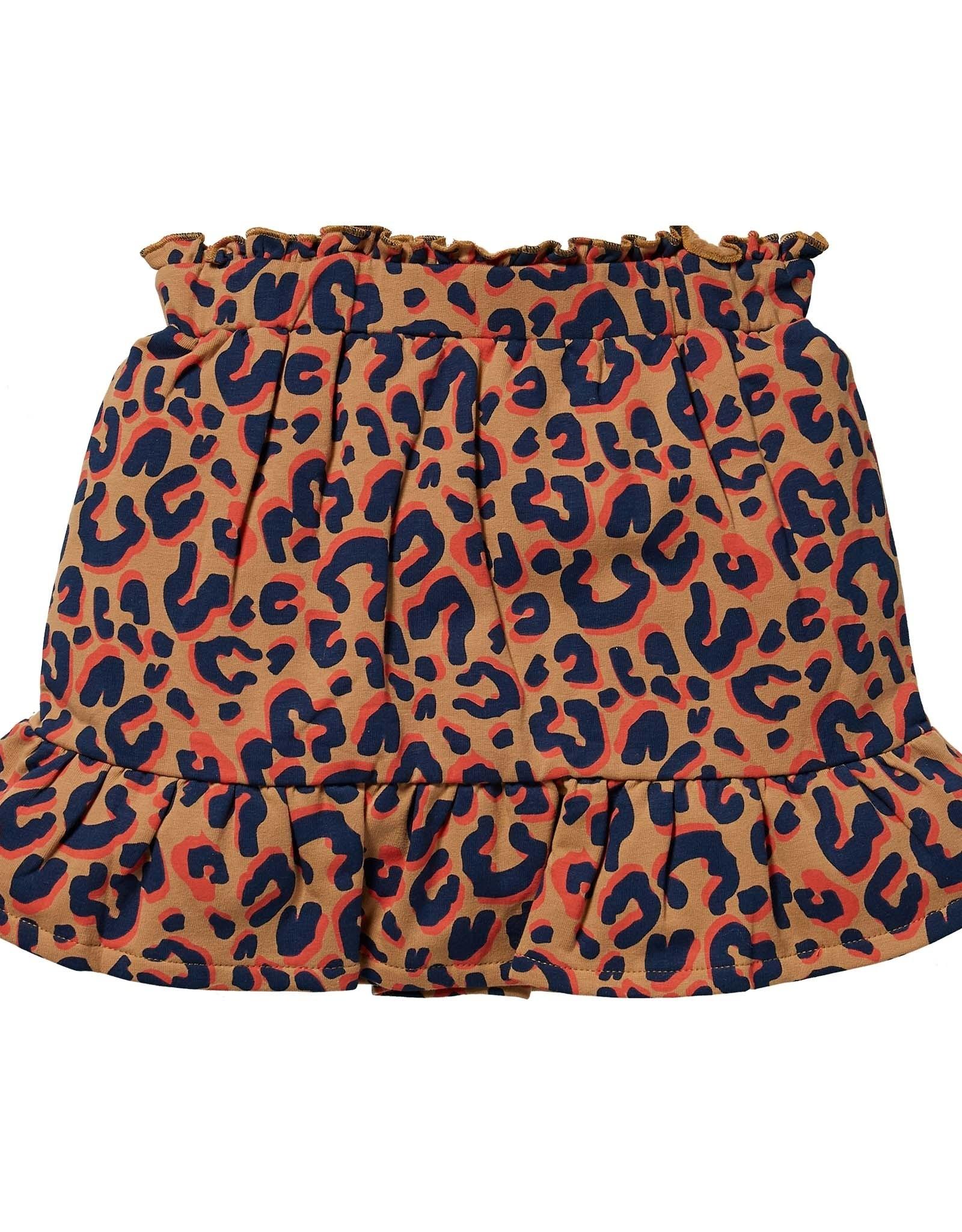 Quapi Quapi rokje KHLOE caramel leopard