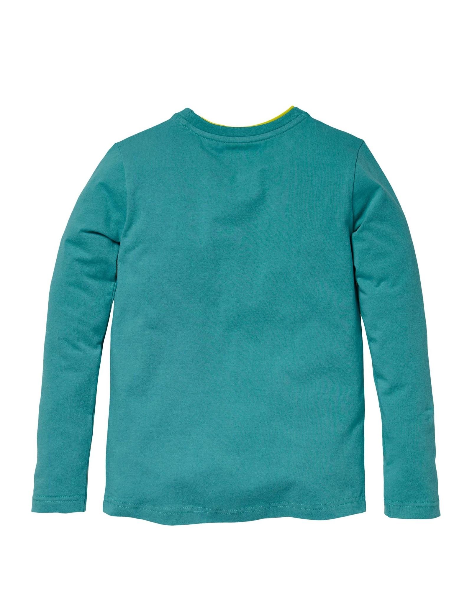 Quapi Quapi longsleeve KADIR turquoise