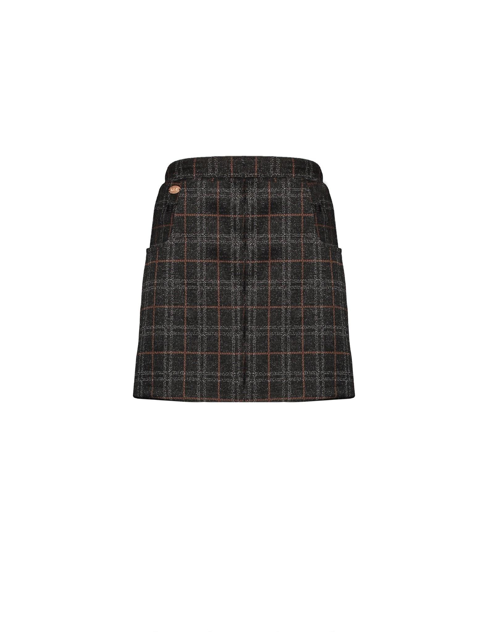 NoBell NoBell skirt short 3703 jet black
