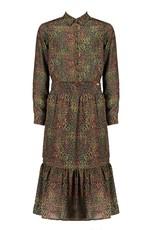 NoBell NoBell maxi dress 3802 army green