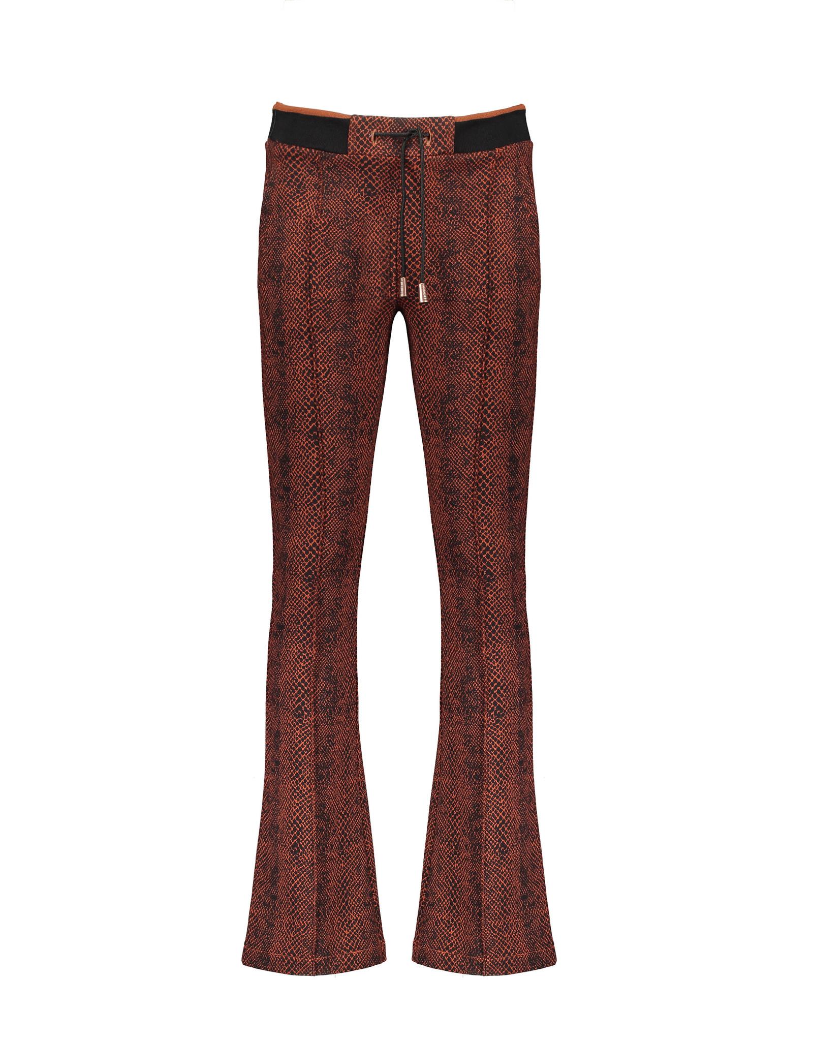 NoBell NoBell flared pants 3608 piment