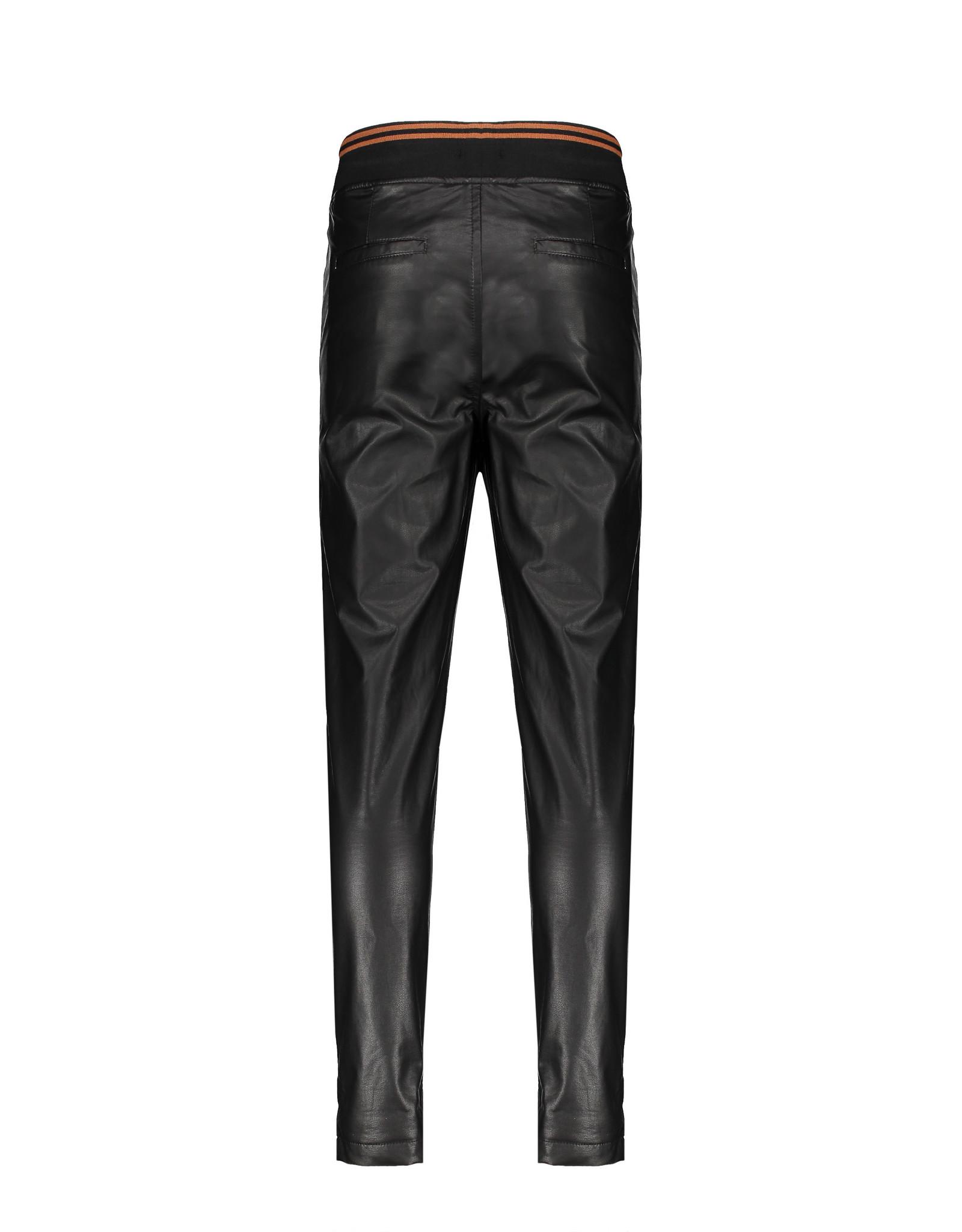 NoBell NoBell fake leather pants 3610 jet black