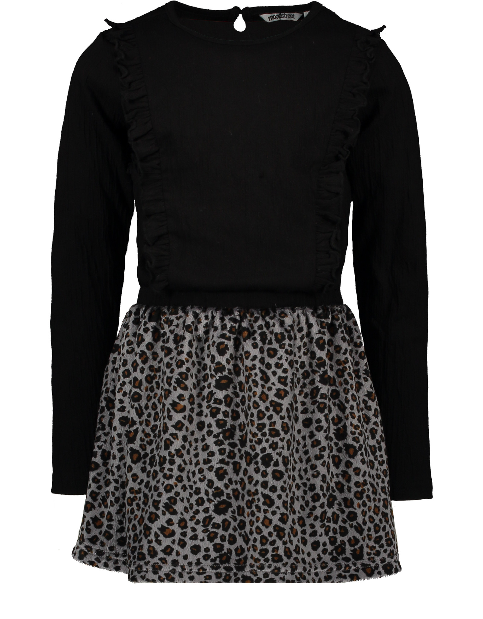 Moodstreet Moodstreet jurkje 5818 black