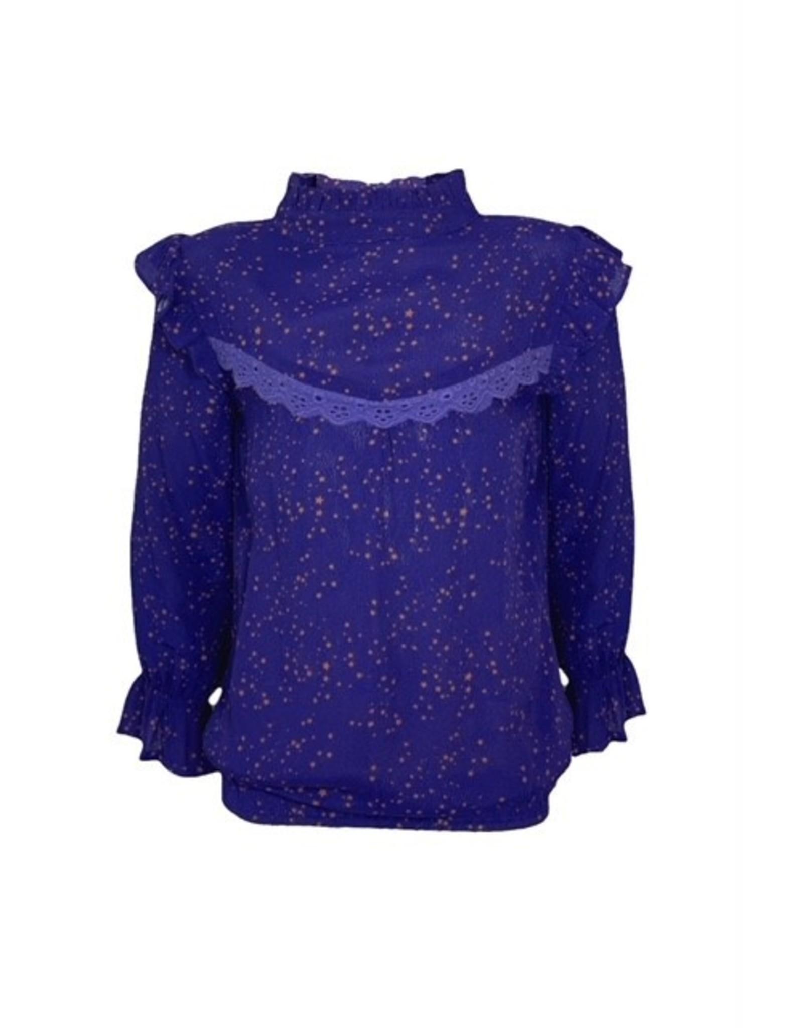 Topitm TOPitm blouse Charlotte cobalt/star