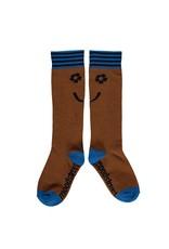 Moodstreet Moodstreet kneehigh socks 5910 rust