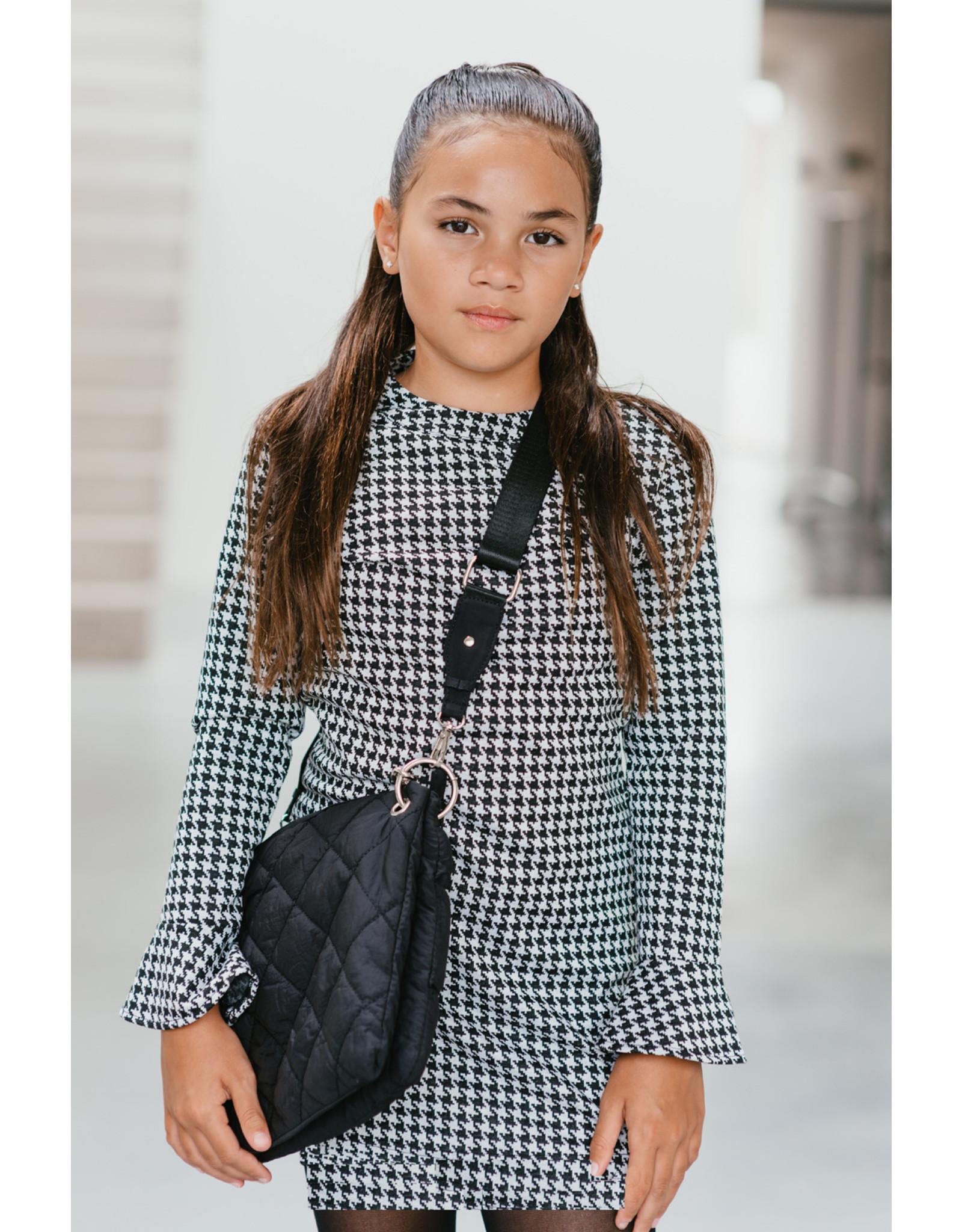 Topitm Miss T dress Kiara black/white