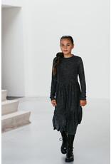 Topitm MissT long dress Mila aop check