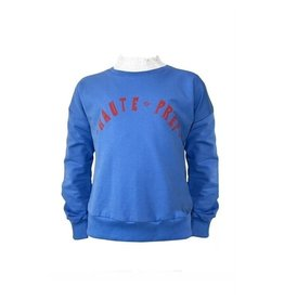 Topitm TOPitm sweater Adriana light blue