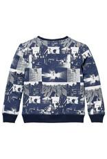 Quapi Quapi sweater Kenzio blue dark