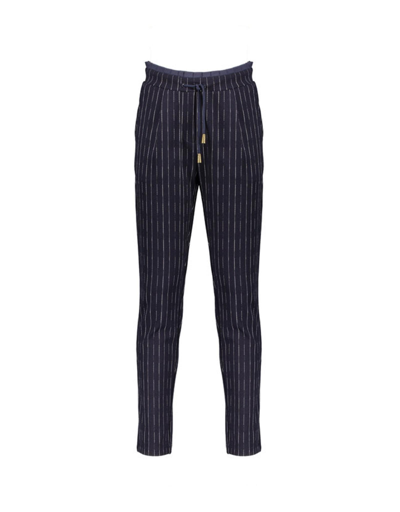 NoBell NoBell pinstripped pants 3600 navy blazer