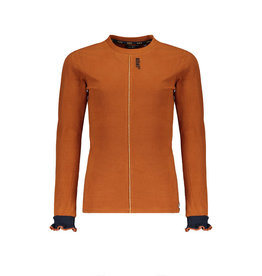 NoBell NoBell shirt 3405 cinnamon