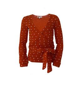 Topitm TOPitm vest Daan orange knit