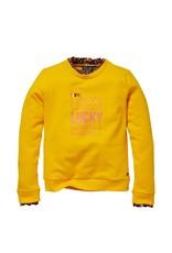 Quapi Quapi sweater Kato yellow sun