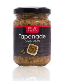 Deli Di Paolo Tapenade groene olijven 140g (90232)