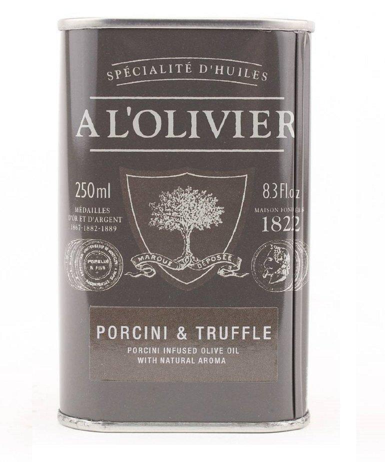 Olijfolie extra vergine eekhoorntjesbrood & truffel 250ml A L'Olivier
