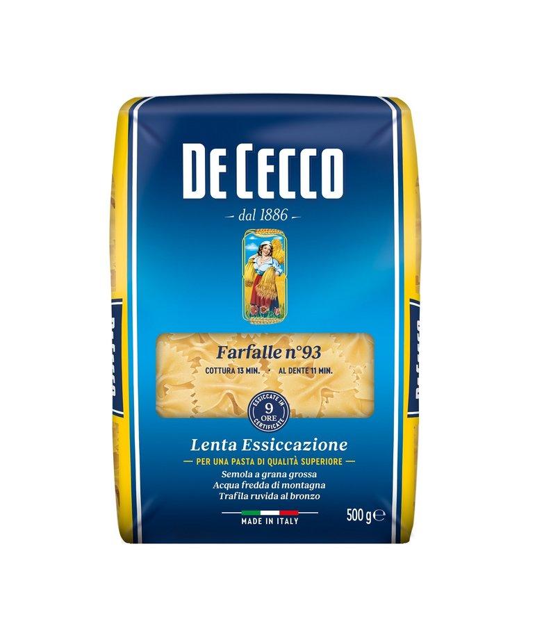 Farfalle pasta no.93 500g De Cecco