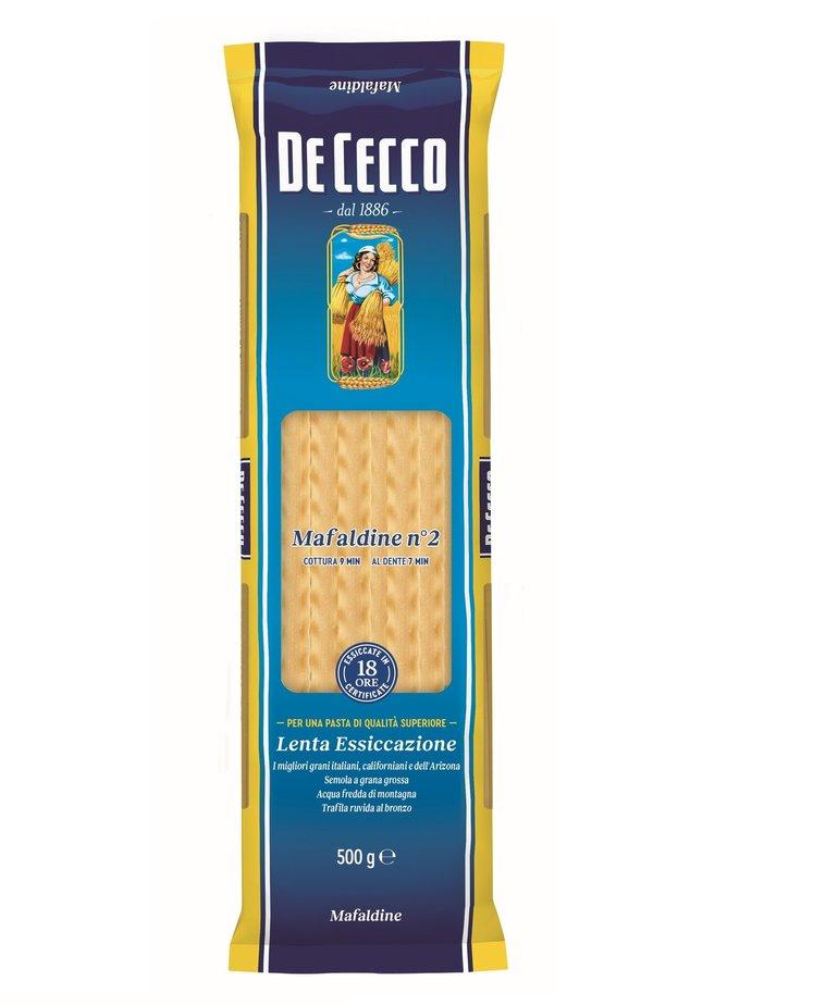 Mafaldine pasta no.2 500g De Cecco
