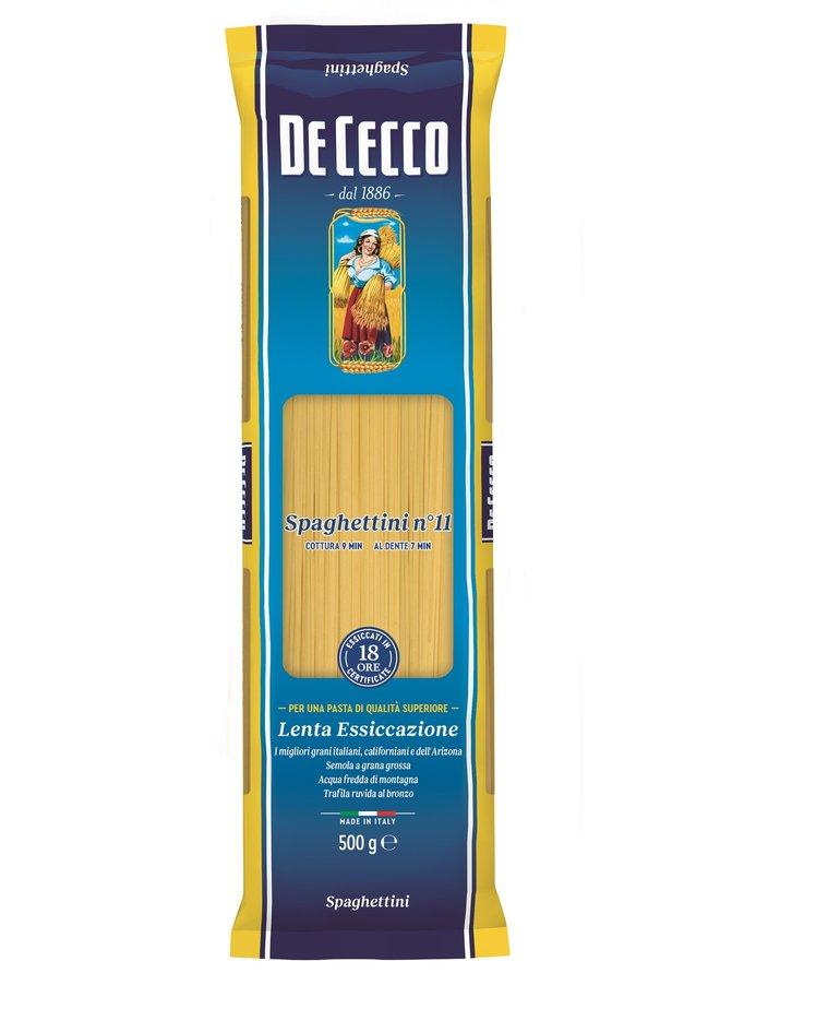 Spaghettini pasta no.11 500g De Cecco