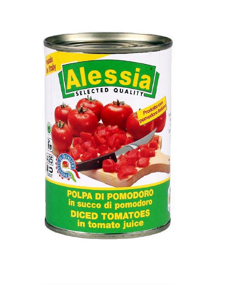 Tomatenblokjes (polpa) 400g Alessia