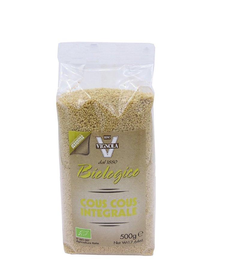 Biologische volkoren couscous 500g Riso vignola