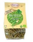 Biologische penne pasta groene erwten 250g Dalla Costa
