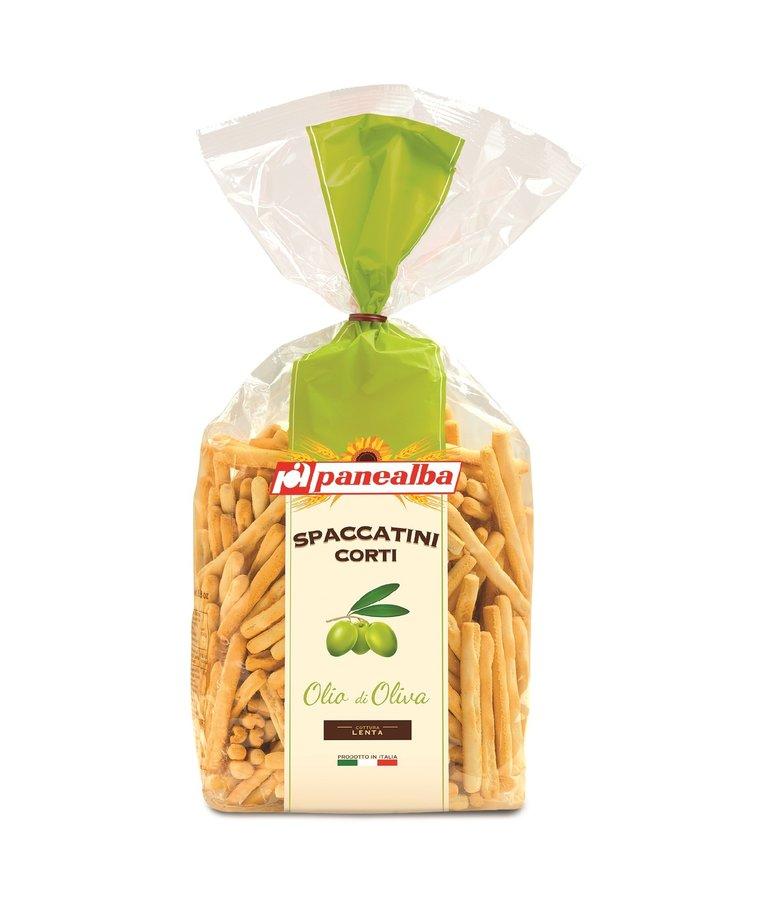 Spaccatini corti met olijfolie 250g Panealba