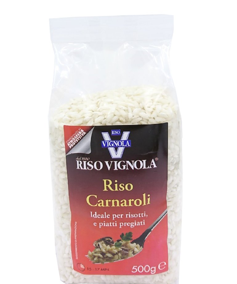 Rijst carnaroli 500g Riso Vignola