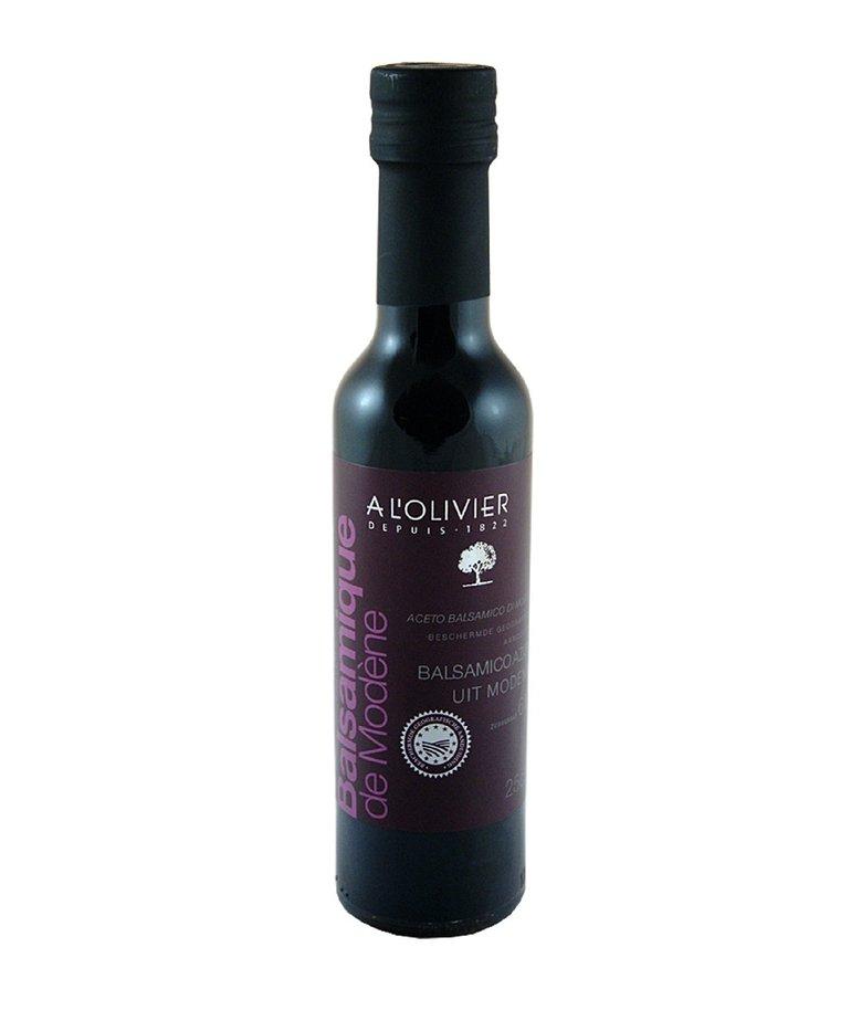 Balsamico azijn 250ml A L'Olivier