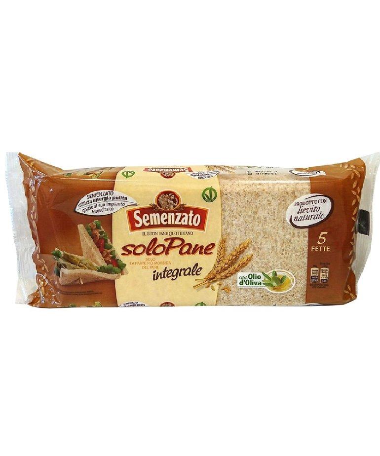 Tramezzini sandwichbrood volkoren 250g Semenzato