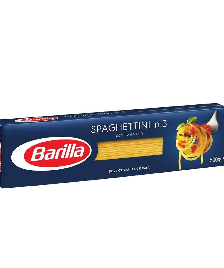 Spaghettini pasta no.3 500g Barilla