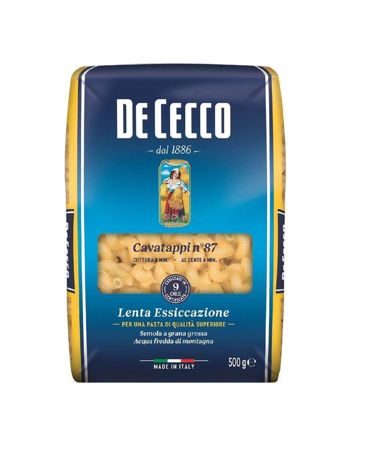 Cavatappi pasta no.87 500g De Cecco