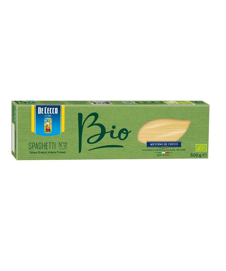 Biologische spaghetti pasta no.12 500g De Cecco