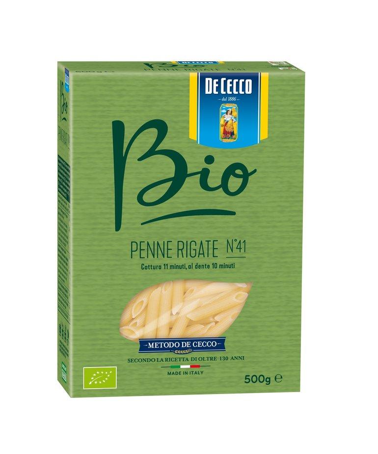 Biologische penne rigate pasta no.41 500g De Cecco